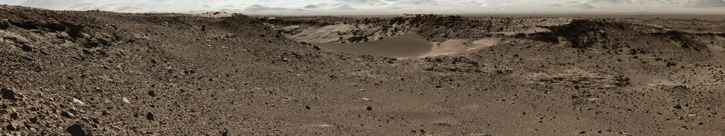 Curiosity Mars Rover Approaches 'Dingo Gap,' Mastcam View