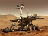 read the article 'Mars Rovers Break Driving Records, Examine Salty Soil'