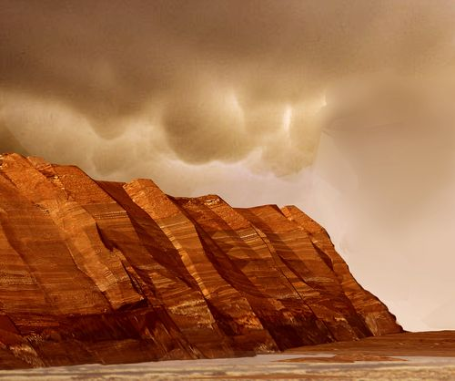 High View of Melas (13 Mar 2006)