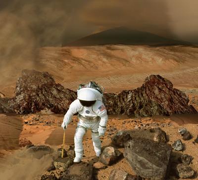 nasa mars landing human - photo #14