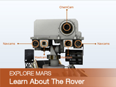 Link to 'Learn About Me: Curiosity' page