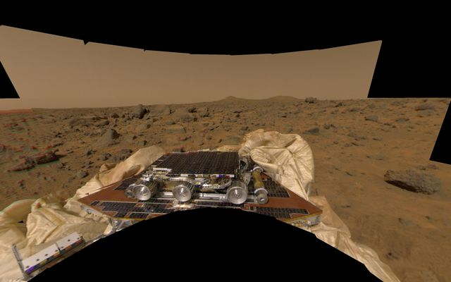 New Perspective of Undeployed Rover