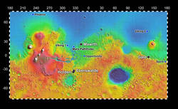 Four Finalist Landing Site Candidates for Mars Science Laboratory
