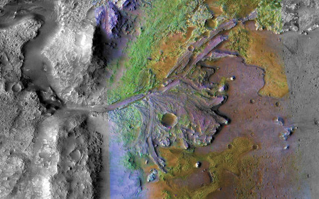 It's not only when trying to find a scientifically interesting place to land that the high-resolution images from HiRISE come in handy: it's also to identify potential hazards within a landing ellipse.