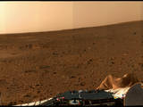 Spirit Lands at Gusev Crater