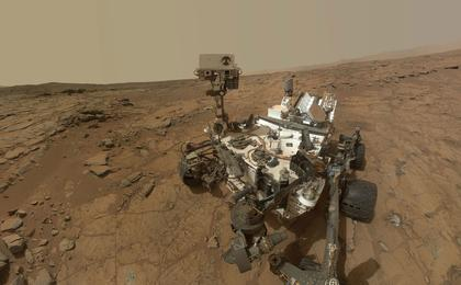 see the image 'Updated Curiosity Self-Portrait at 'John Klein''