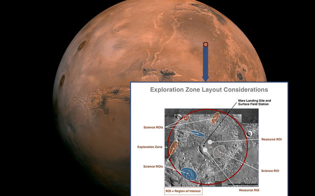 read the article 'NASA Seeks Ideas for Where on Mars the Next Giant Leap Could Take Place'