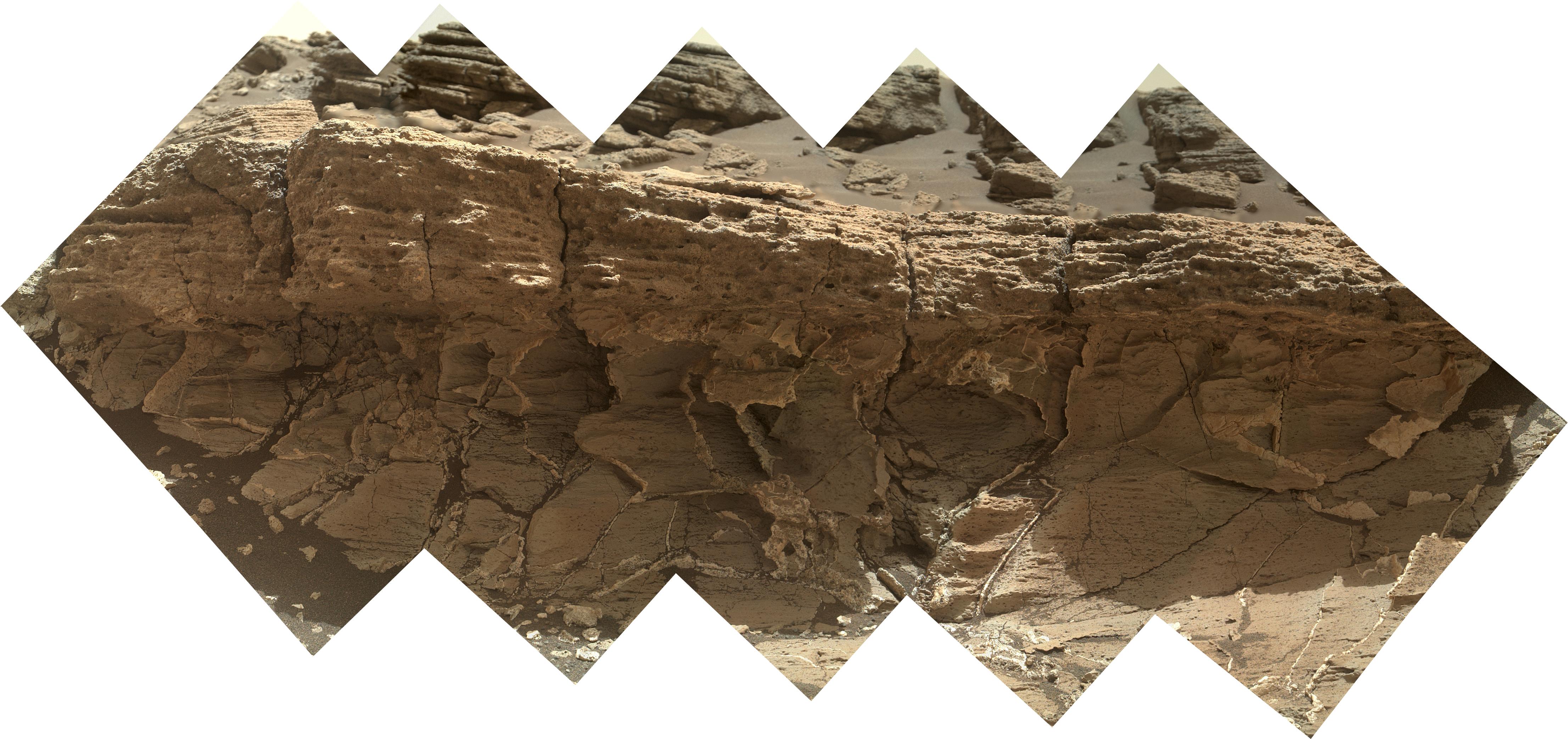 NASA's Curiosity Rover Inspects Unusual Bedrock | Mars News