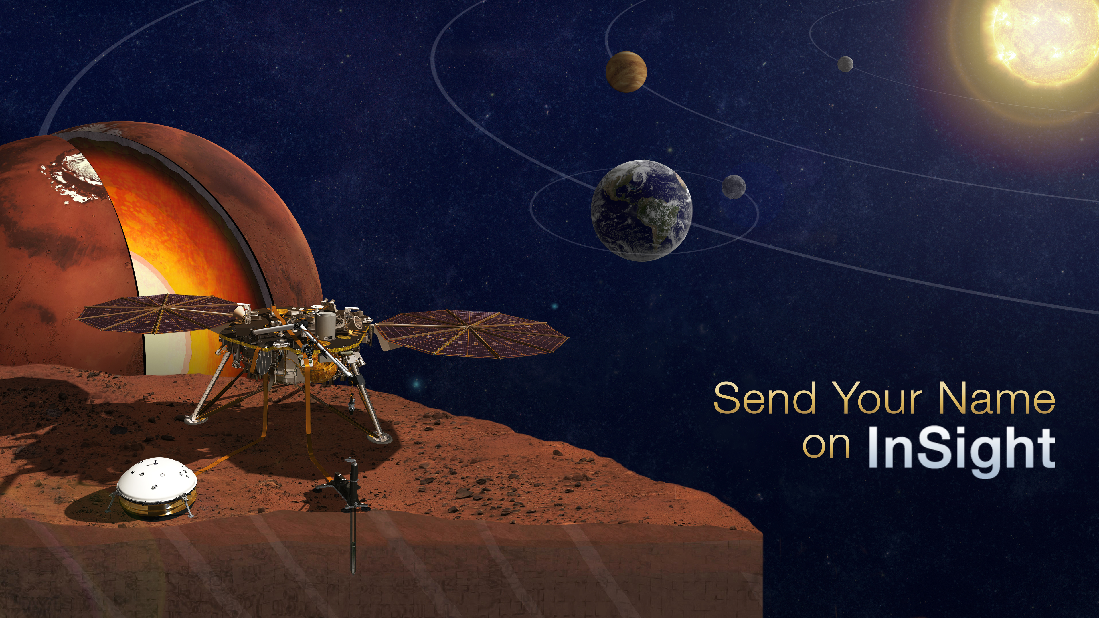 Send Your Name to Mars on NASA's Next Red Planet Mission