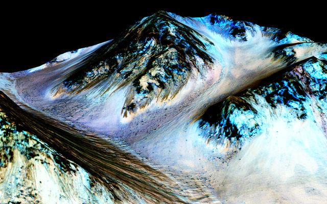 NASA temukan air di planet mars, ada kehidupan?