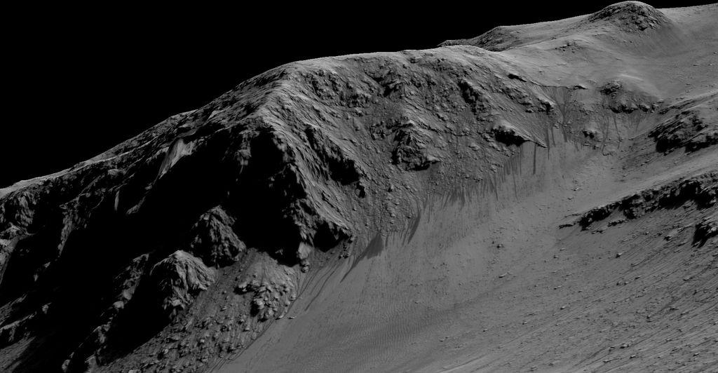 Течна вода на Марс