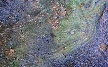 read the article 'Rocks Here Sequester Some of Mars' Early Atmosphere'