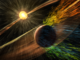read the article 'NASA Mission Reveals Speed of Solar Wind Stripping Martian Atmosphere'