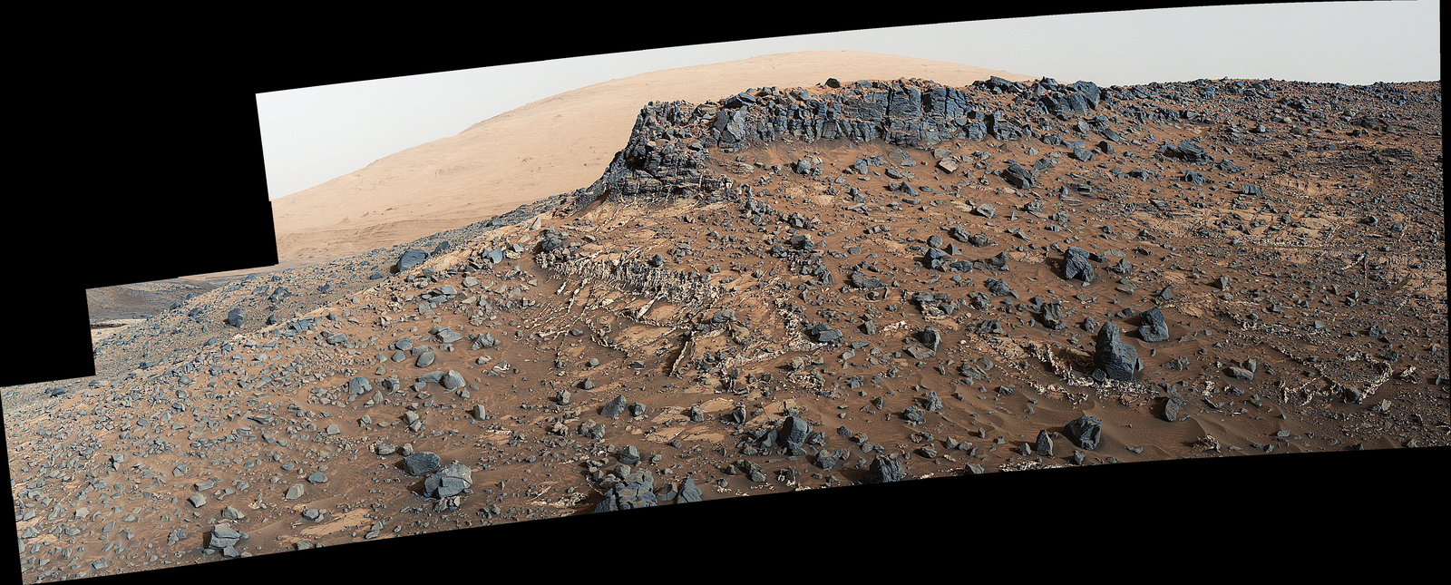 Veiny 'Garden City' Site and Surroundings on Mount Sharp, Mars