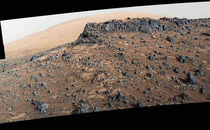 read the article 'Upgrade Helps NASA Study Mineral Veins on Mars'
