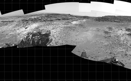 read the article 'Full-Circle View Near 'Marias Pass' on Mars'