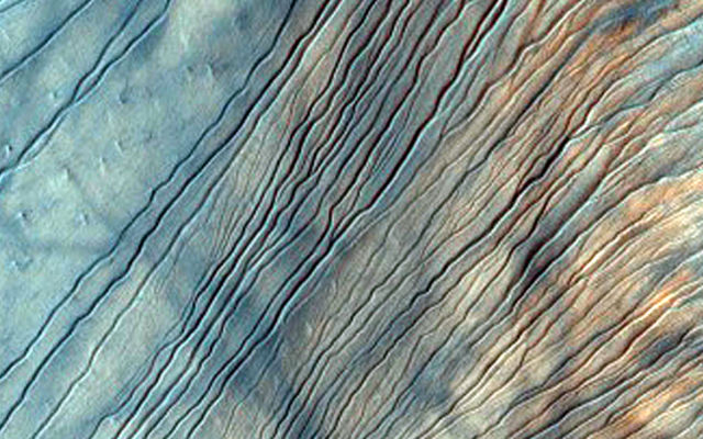 Ice Covered Dunes on Mars
