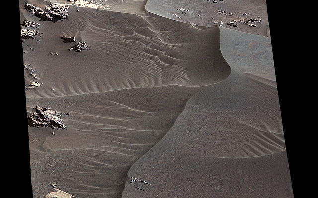 'High Dune' is First Martian Dune Studied up Close (Full Unannotated)