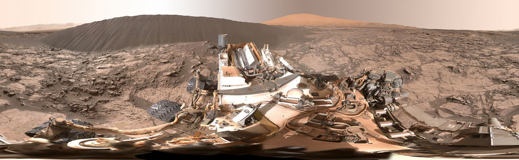 view 'Full-Circle Panorama Beside 'Namib Dune' on Mars'