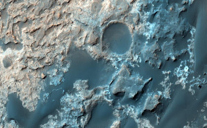 read the article 'Mars Reconnaissance Orbiter Checks Curiosity's Trek'