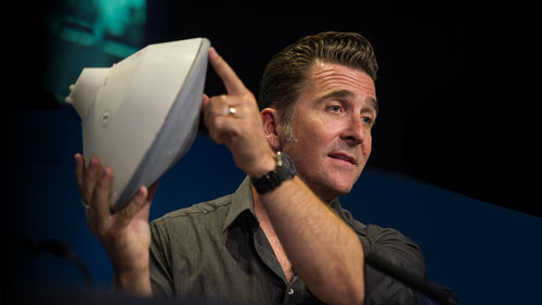 Adam Steltzner, a JPL engineer