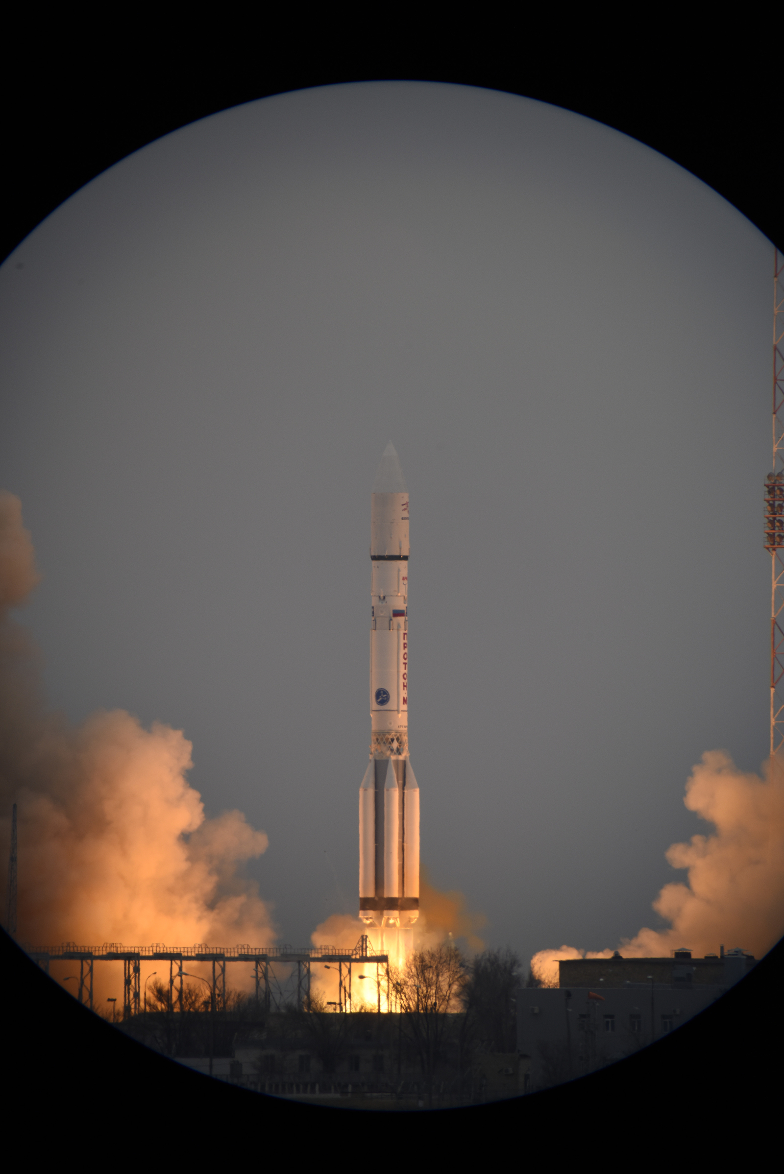 Launch of Europe's ExoMars 2016 from Kazakhstan