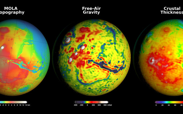Using Gravity to Map Mars' Crustal Thickness