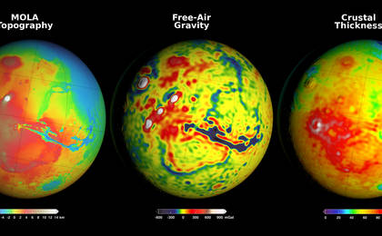 read the article 'New Gravity Map Gives Best View Yet Inside Mars'