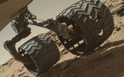 Mars Exploration - Image Embed - Routine Inspection of Rover