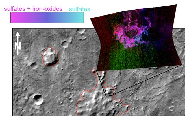 read the article 'Found: Clues about Volcanoes Under Ice on Ancient Mars'