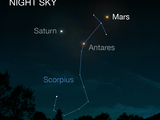 In 2016, the planet Mars will appear brightest from May 18 to June 3.
