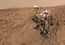 see the image 'Curiosity Self-Portrait at 'Okoruso' Drill Hole'
