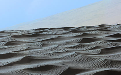 read the article 'Two Sizes of Ripples on Surface of Martian Sand Dune'