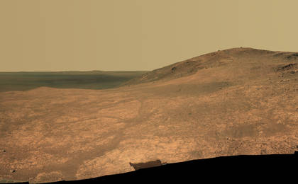 read the article 'Mars Rover Opportunity's Panorama of 'Marathon Valley''
