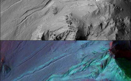 read the article 'Adding Composition Data About Mars Gullies'