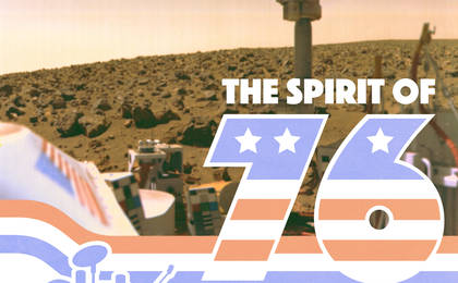 read the article 'Viking 40 Year Anniversary Artwork: Spirit of 76 Bicentennial'