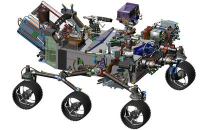 read the article 'Computer-Design Drawing for NASA's 2020 Mars Rover'