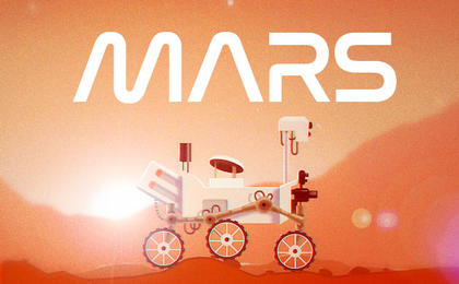 read the article 'Mars Rover Is New Social Media Game'