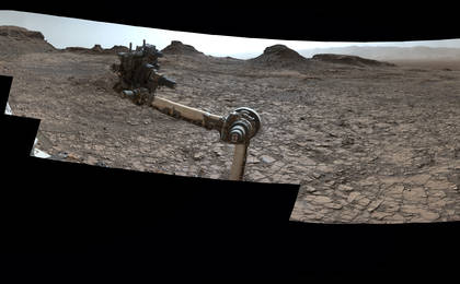read the article 'Rover's Panorama of Entrance to 'Murray Buttes' on Mars'