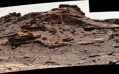 read the article 'Butte 'M9a' in 'Murray Buttes' on Mars'