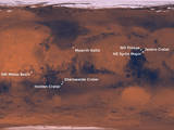These eight places on Mars are potential landing sites under consideration as the destination for the Mars 2020 rover mission.