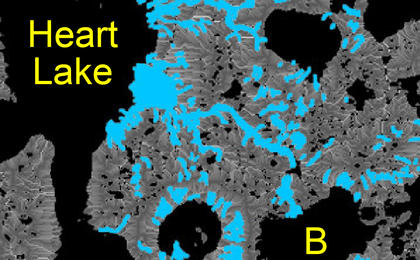 read the article 'Hydrologic Modeling of Relatively Recent Martian Streams and Lakes'