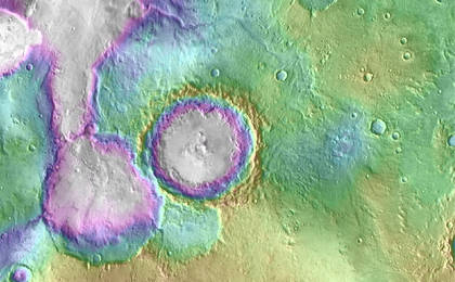 read the article 'Landscape of Former Lakes and Streams on Northern Mars'
