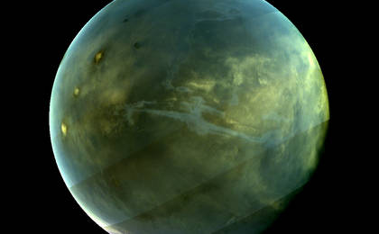 read the article 'A Sharpened Ultraviolet View of Mars'