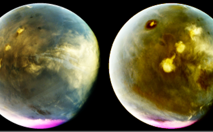 read the article 'Ultraviolet Mars Reveals Cloud Formation'