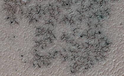 read the article 'Citizen Scientists Seek South Pole 'Spiders' on Mars'