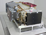 The Imaging Ultraviolet Spectrograph (IUVS) is a part of the Remote Sensing (RS) Package and measures global characteristics of the upper atmosphere and ionosphere via remote sensing.