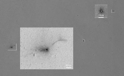 read the article 'Further Clues to Fate of Mars Lander, Seen From Orbit'