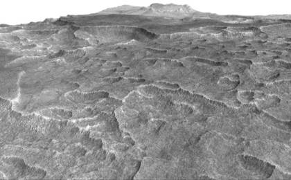 read the article 'Scalloped Terrain Led to Finding of Buried Ice on Mars'