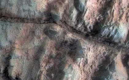 read the article 'Opportunity Inspects 'Gasconade' on 'Spirit Mound' of Mars'